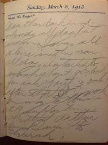 Near Edmonton, Alberta, Lest We Forget Sunday, March 2, 1913
